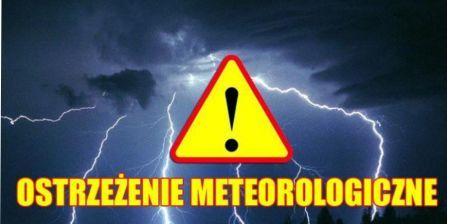 Ostrze¿enie meteorologiczne