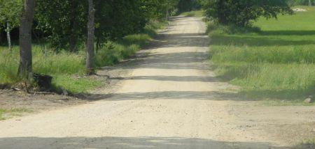 Remont nawierzchni gruntowej drogi gminnej £obzowo - Barkocin